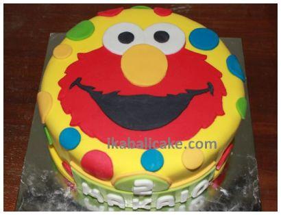 IKA Bali Birthday Cake Elmo