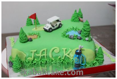 Bali Birthday Cake Golf Course