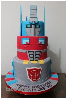Bali Birthday Cake Transformer