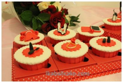 IKA Bali Birthday Cupcake Set