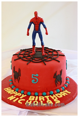 IKA Bali Birthday Spiderman Cake
