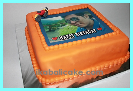 Bali Birthday Cake Motorcycle
