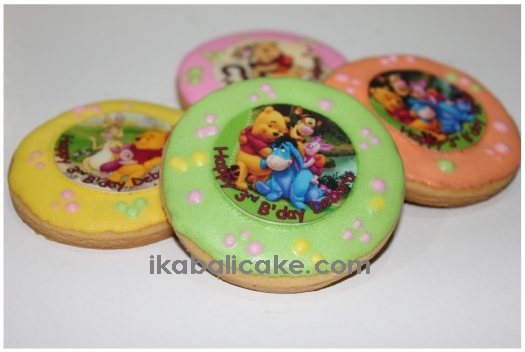 IKA Bali Cake Decorated Cookies with edible picture