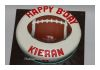 Bali Reds Rugby Ball cake