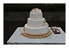 Bali Wedding Cake with Roses Gold